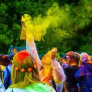Festival of Colors (kleurenblind) - CC0 Creative Commons Pixabay