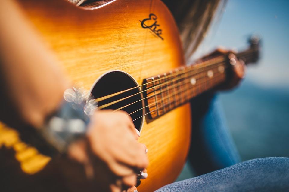 Gitaar, muziek, muziek weetjes - CC0 Creative Commons