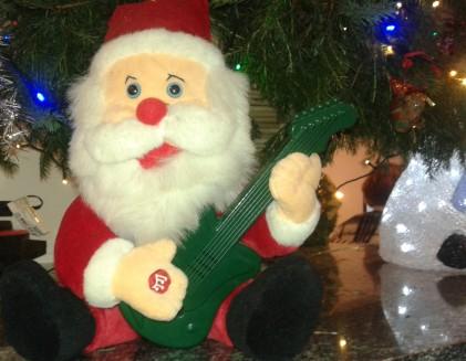 Kerstplaten Kerstman