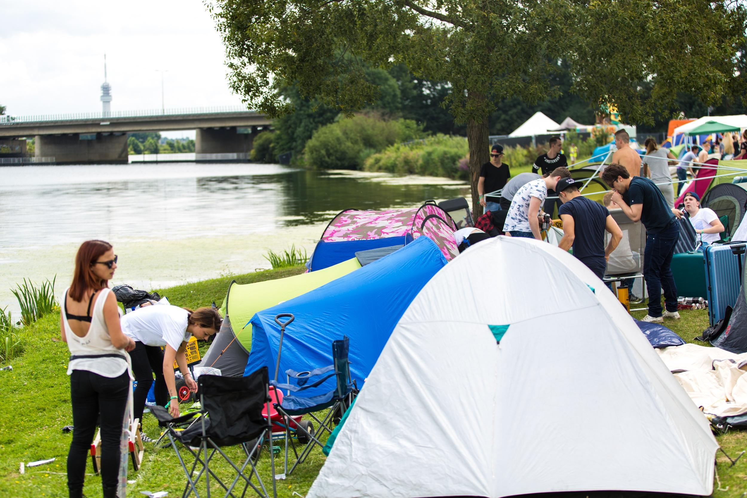 Camping @ Solar Weekend Festival - Fotocredits Stephan Colen - Persbericht MyNewsDesk)