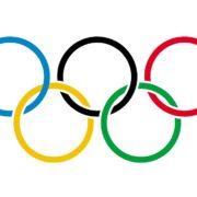 Olympische anthems, olympic anthems, Logo Olympische Spelen - Pixabay Publiek Domein
