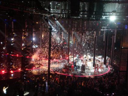 Optreden op MTV EMA - Foto: Andy Miah - Flickr