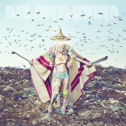 Die Antwoord – Mount Ninji And Da Nice.. Albumcover (Bron: Bol.com)