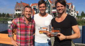 Nick en Simon ontvangen 100% NL Oeuvre Award (Bron: Persbericht 100% NL)