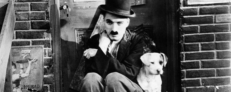 Charlie Chaplin - Wikimedia Commons (Public Domain)
