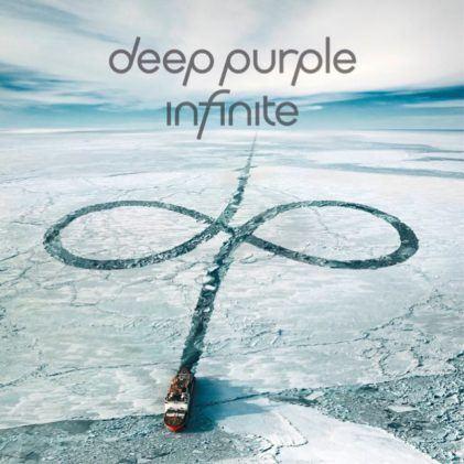 Album cover Deep Purple - Infinite. Bron: Bol.com