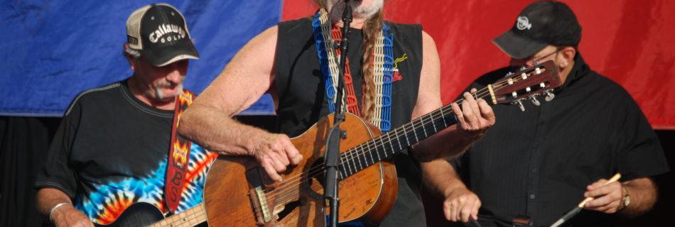 Willie Nelson - Foto: Bob Tilden - (Bron: Wikimedia Commons)