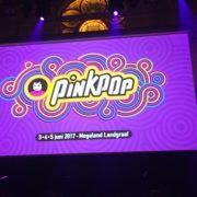 Pinkpop 2017 Perspresentatie