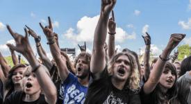 metal fans - Foto Oscar Anjewierden (Flickr)