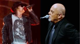 Axl Rose en Billy Joel - Foto's slgckgc en Dineshraj Goomany (Flickr)