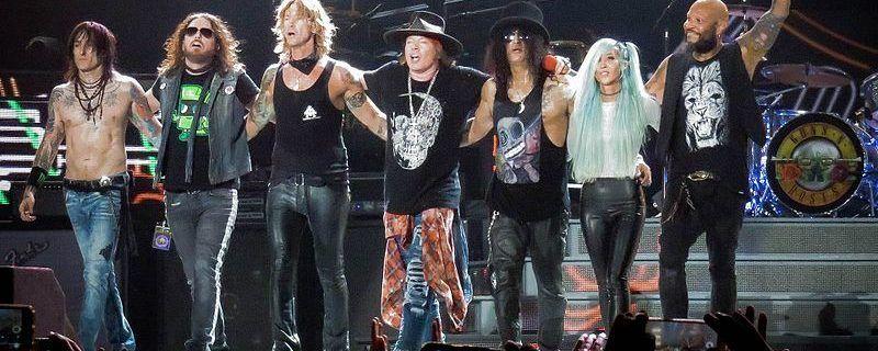 Guns N' Roses- Foto Ed Vill (Wikimedia)