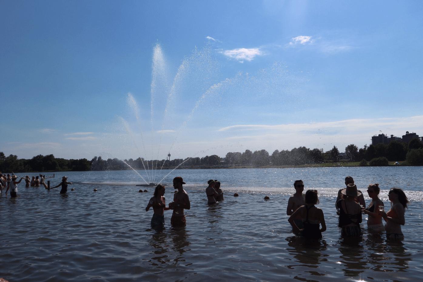 Zwemmen @ Central Park Festival 2017 - Fotocredits: Stefan van Schaik