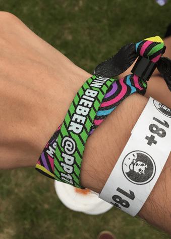 Bieber Polsbandje tijdens Pinkpop 2017 - Fotocredits: Sam Reneerkens