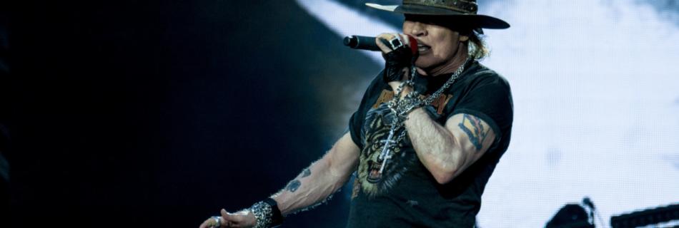 Axl Rose Guns N' Roses - Foto Raph_PH (Flickr, CC BY 2.0)