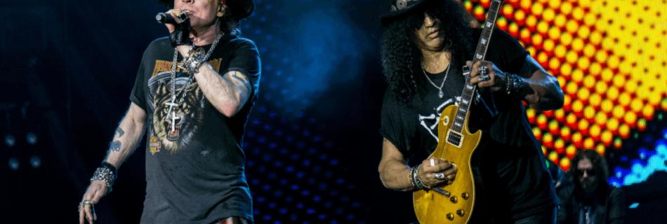 Axl Rose & Slash (Guns N' Roses) - Foto Raph_PH (Flickr, CC BY 2.0)