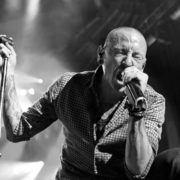 Chester Bennington (Linkin Park) zwart-wit - Foto Gansb (Wikimedia)