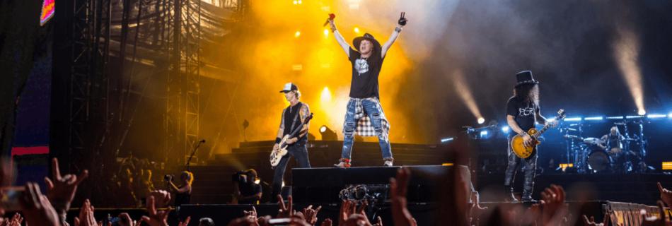 Guns N' Roses - Foto Raph_PH (Flickr, CC BY 2.0) Sweet Child O' Mine