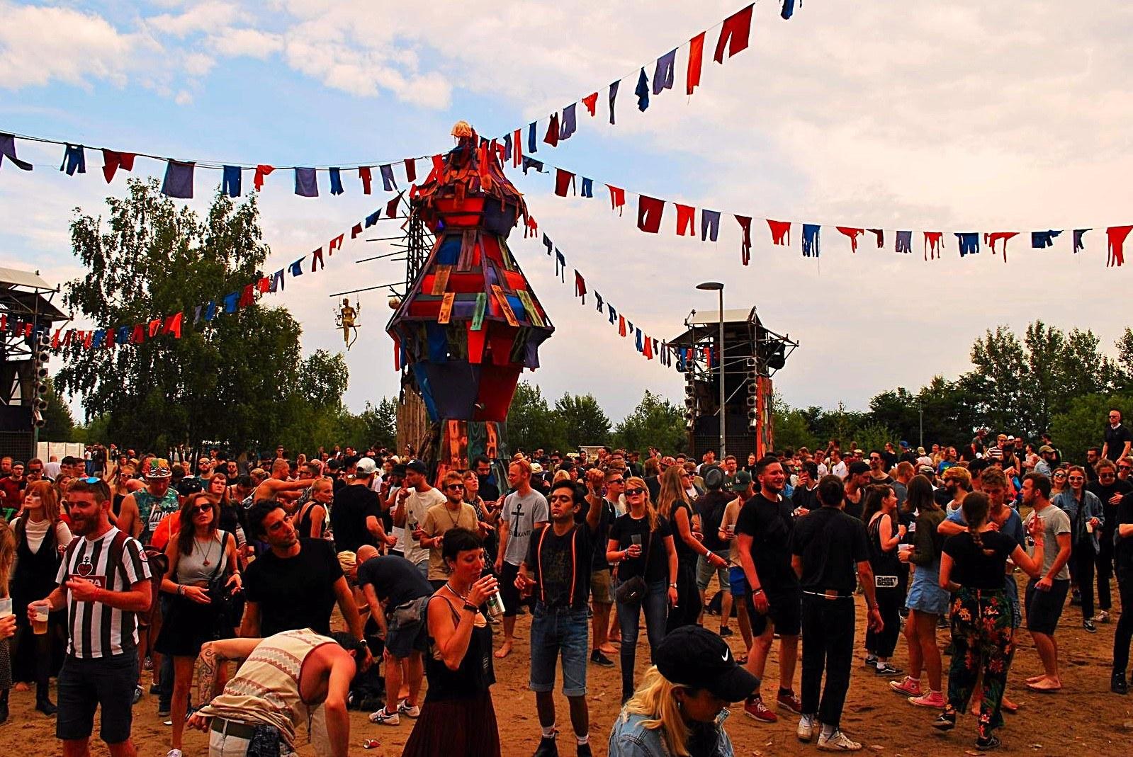 Sleepless Floor @ MELT Festival 2017 - Fotocredits: Djuna Vaesen