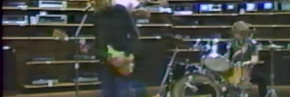 Nirvana in 1988 (YouTube)