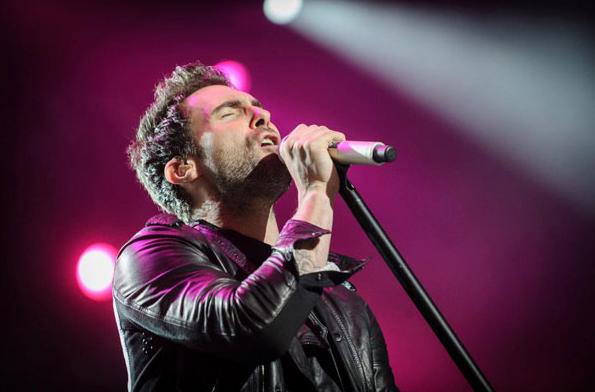 Adam Levine (Maroon 5) - Foto: Stephan Solo (Flickr: Focka)