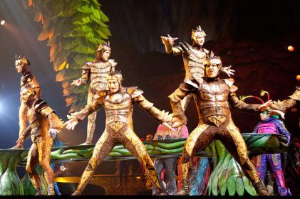 Cirque du Soleil - fotocredits Ed Schipul (Wikimedia Commons)