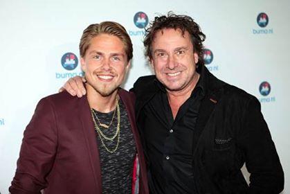Marco Borsato en André Hazes Jr (Buma NL Awards) - Foto: Jim Hoogendorp, Persbericht Buma NL