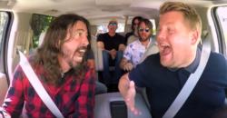 Foo Fighters Carpool Karaoke - YouTube screenshot