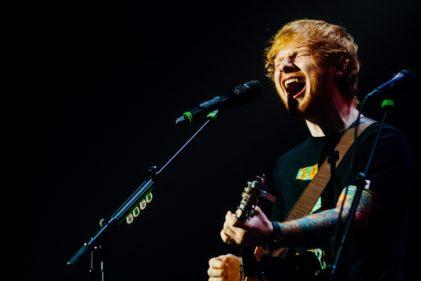 Ed Sheeran - Foto Kmeron - Flickr (CC BY-NC-ND 2.0)