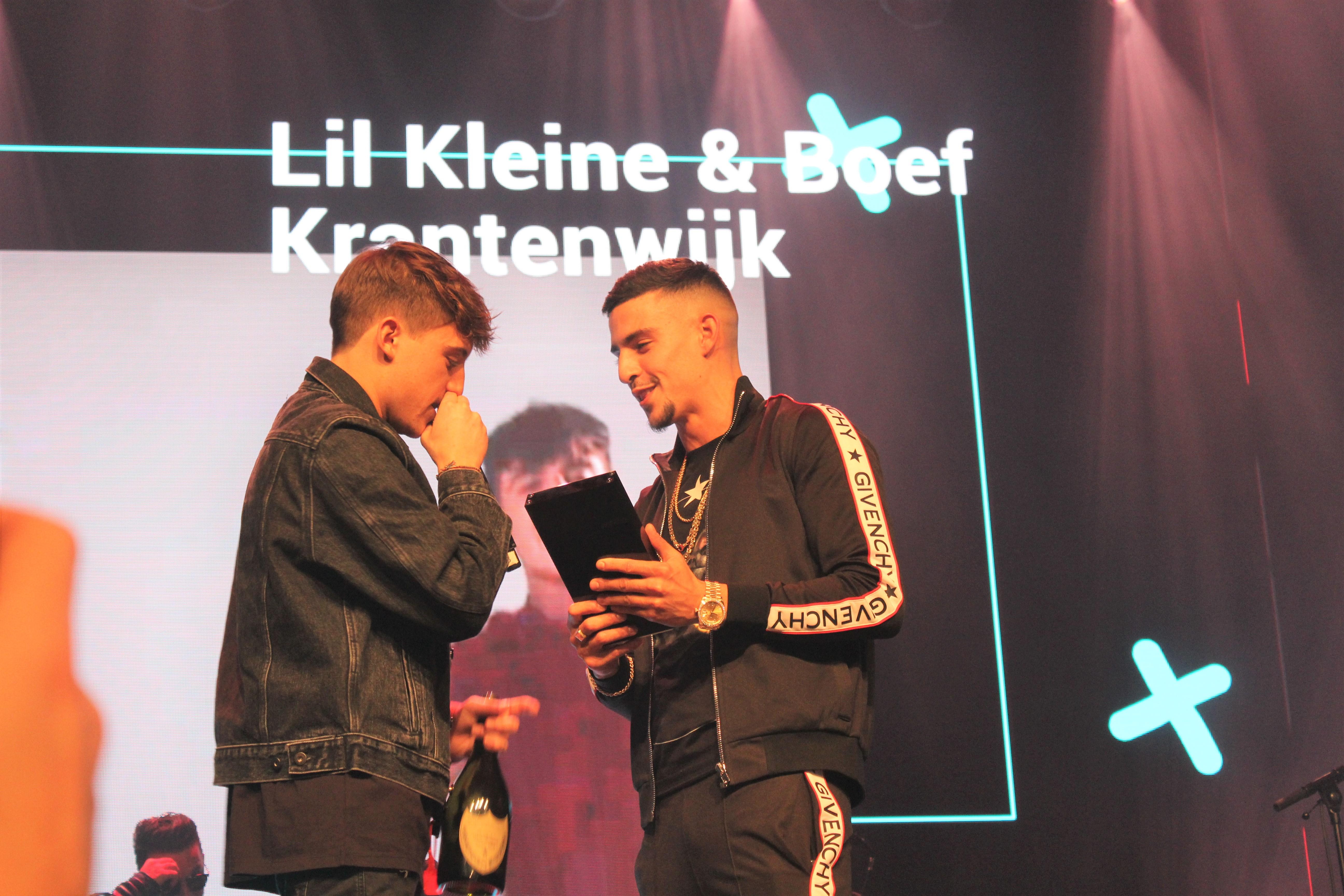 Lil Kleine en Boef @ XITE Awards - Fotocredits: Chenneti Ascencion (Artiestennieuws)