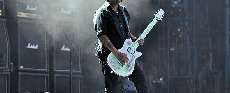 Phil Campbell (Motörhead) - Foto Jonas Rogowski (Wikimedia, CC BY-SA 3.0)