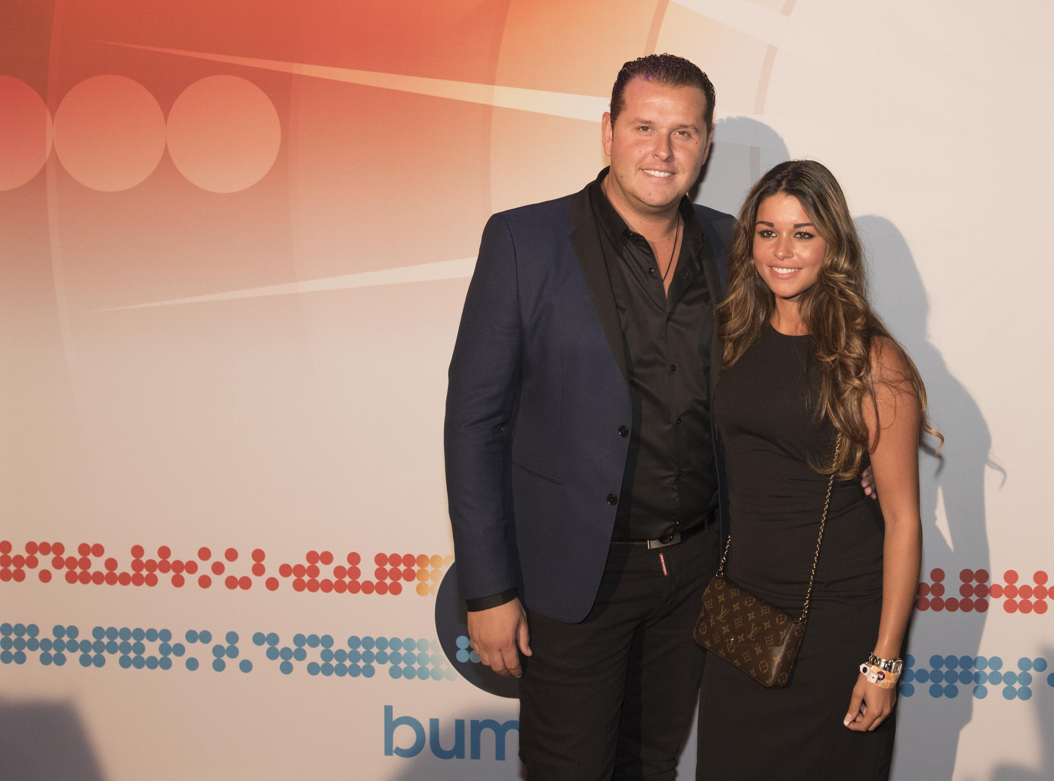 Stef Ekkel en partner tijdens Buma NL Awards 2017 - Fotocredits: Shali Blok (ArtiestenNieuws)