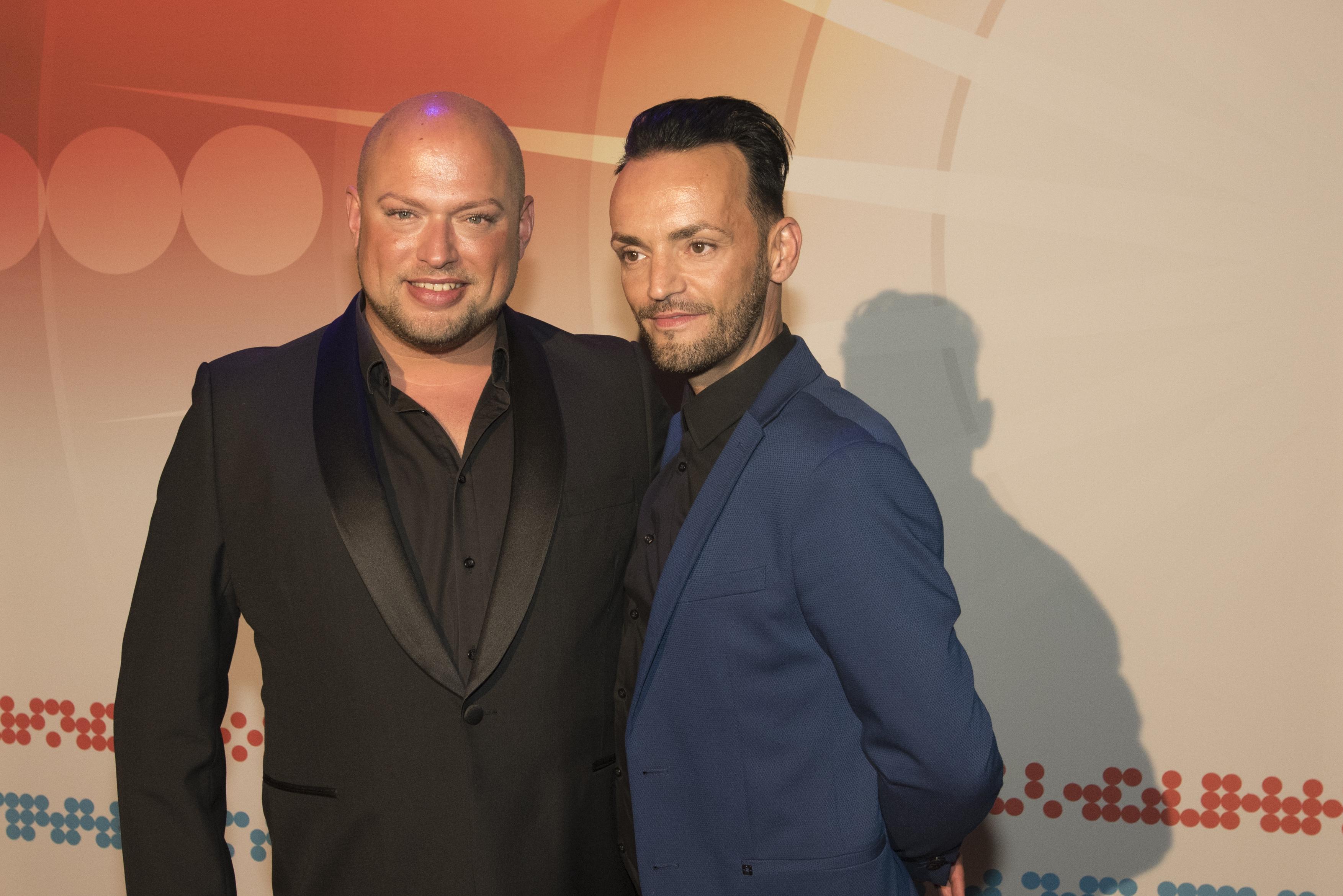 Jeffrey Kuipers en Michael Van Zwol tijdens Buma NL Awards 2017 - Fotocredits: Shali Blok (ArtiestenNieuws)