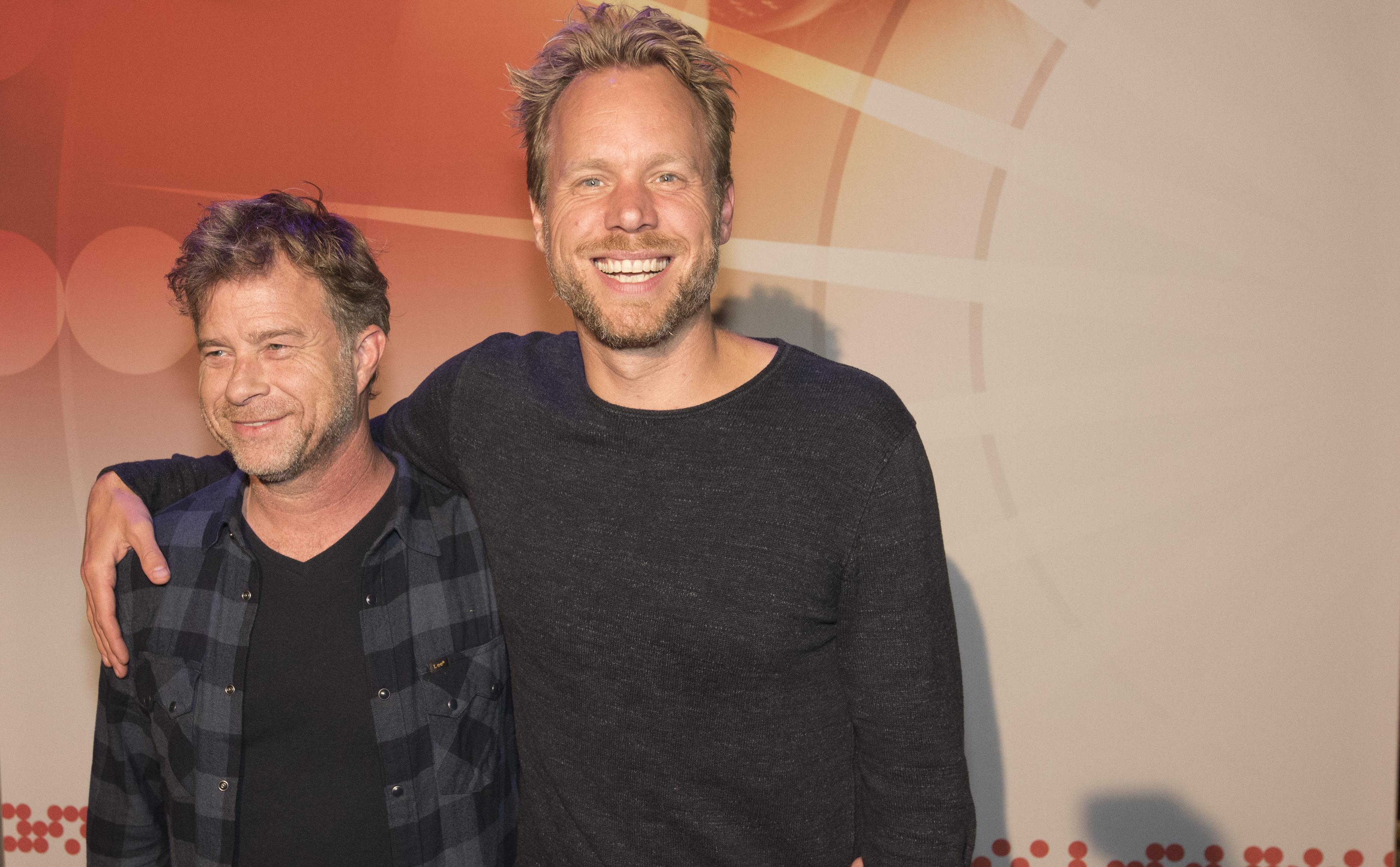 Diggy Dex en JW Roy tijdens Buma NL Awards 2017 - Fotocredits: Shali Blok (ArtiestenNieuws)