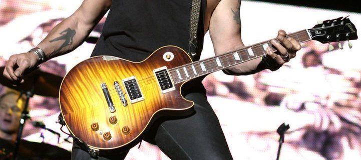 Gibson Les Paul gitaar (Slash) cropped - Foto daigooliva (Wikimedia CC BY-SA 2.0)