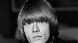 Photograph of Brian Jones of The Rolling Stones during the band's visit to Finland. Author: Olavi Kaskisuo/Lehtikuva. 25 juni 1965.