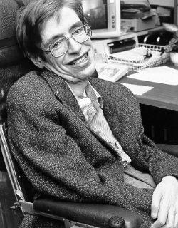 English: NASA StarChild image of Stephen Hawking. Author: NASA (Wikimedia Commons, publiek domein)