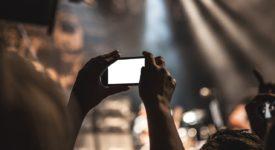 Smartphone concerten, ergernissen concerten - Credits: Pixabay (publiek domein)