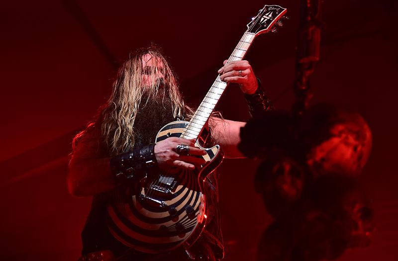 Zakk Wylde (Black Label Society, Ozzy Osbourne) - Foto Staff Sgt. Sara Keller (Wikimedia, public domain)