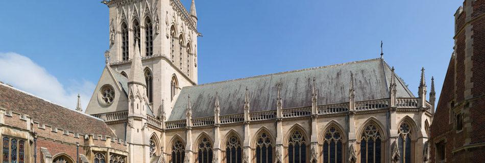 St. John's College Chapel - Foto Diliff (Wikimedia Commons, CC BY-SA 3.0)