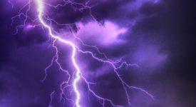 Onweer - donder en bliksem - via Pixabay (CC0)