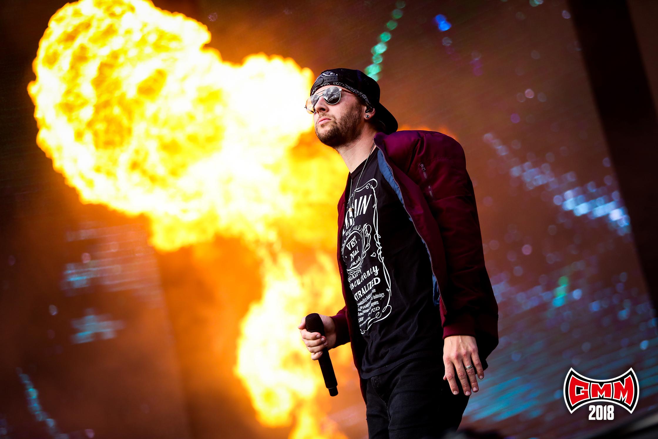 Avenged Sevenfold op Graspop 2018 - Foto: Tim Tronckoe (Graspop Metal Meeting) NIET GEBRUIKEN VOOR ANDERE ARTIKELEN!