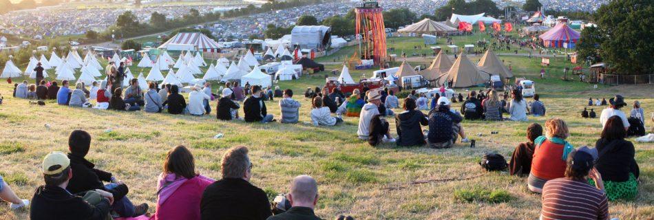 veiligheidsmaatregelen op festivals, Glastonbury Festival - Credits Brian Marks - Wikimedia Commons (CC BY 2.0)
