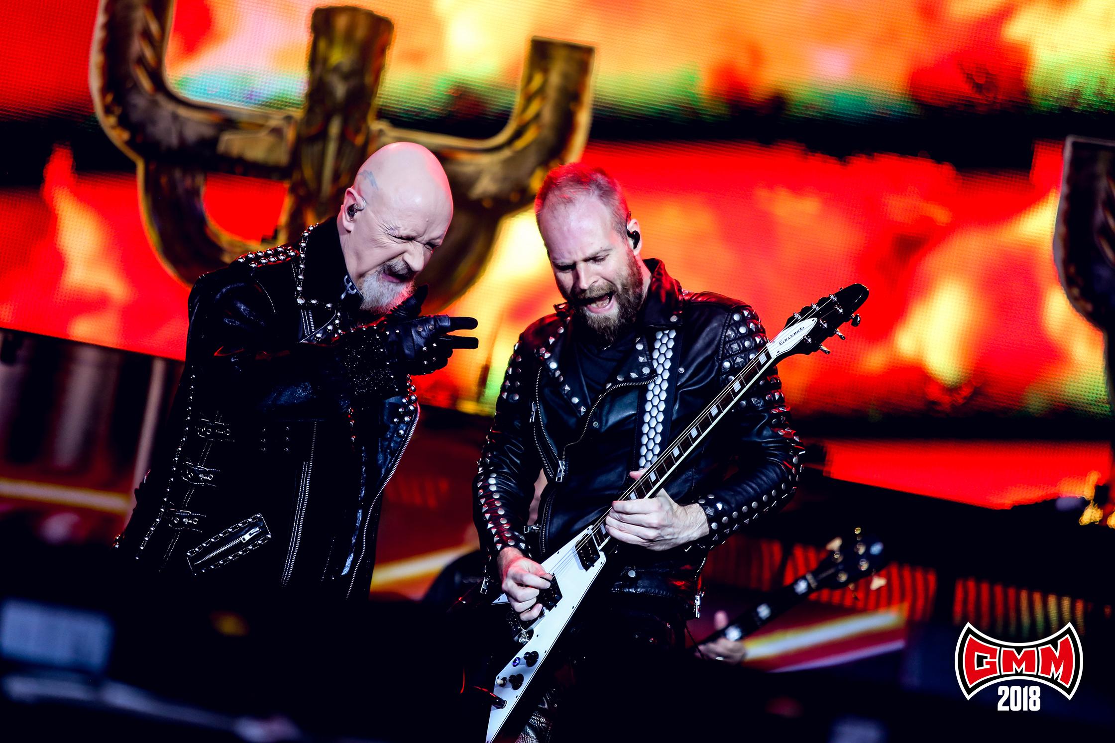 Judas Priest op Graspop - Foto: Tim Tronckoe (Graspop Metal Meeting) - PERSFOTO, NIET GEBRUIKEN VOOR ANDERE ARTIKELEN