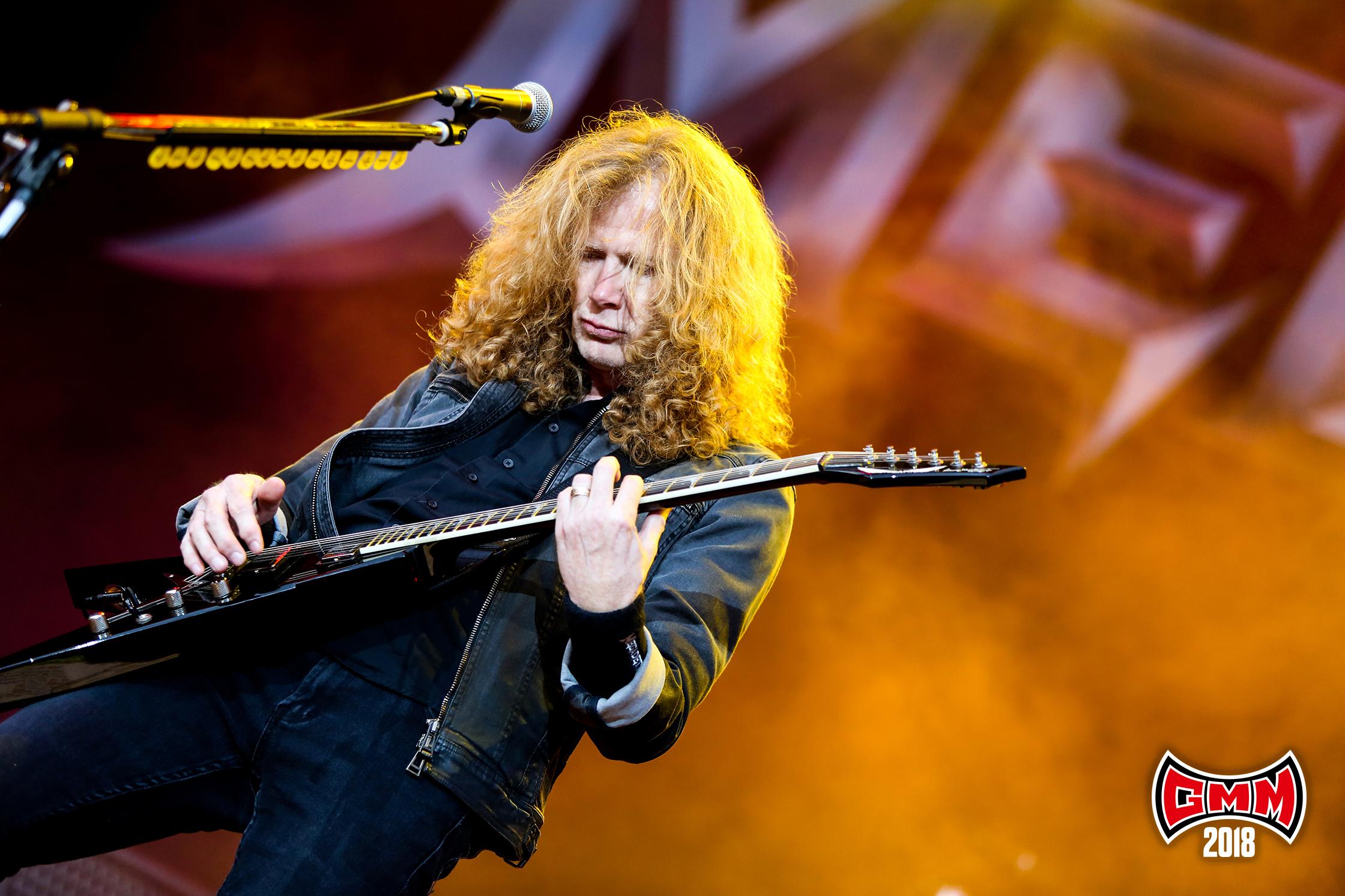Megadeth op Graspop 2018 - Foto Tim Tronckoe (Graspop Metal Meeting) - PERSFOTO, NIET VOOR ANDERE ARTIKELEN GEBRUIKEN