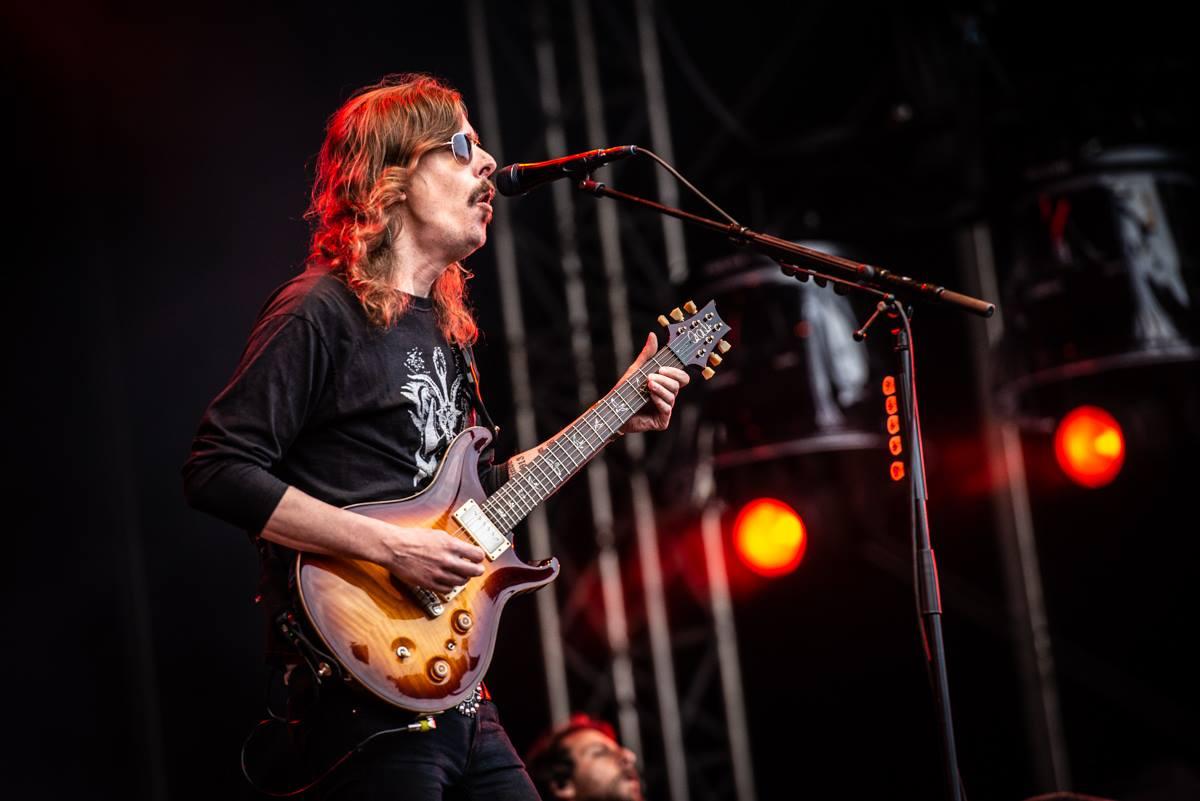Opeth - Fotocredits: Jimmy Israel | Schiet7kleuren Fotocredits: Jimmy Israel | Schiet7kleuren (toestemming Janis van Lokven, FortaRock. Zie mail) NIET GEBRUIKEN BUITEN FESTIVAL REPORT FORTAROCK 2018!