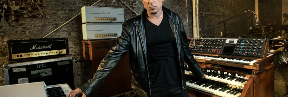 Derek Sherinian (verkleind voor FB) - Foto Hristo Shindov (Persfoto InsideOut Music, toestemming zie mail Frank van Liempd)