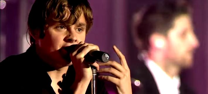 Tom Chaplin (Keane) - Screenshot YouTube 2011
