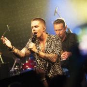 André Hazes tijdens albumpresentatie in Club Panama, Amsterdam - Fotocredits Shali Blok (ArtiestenNieuws)