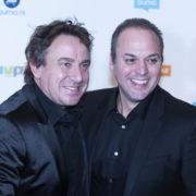 Marco Borsato en Frans Bauer tijdens Buma NL Awards 2018 - Fotocredits: Shali Blok (Artiestennieuws)