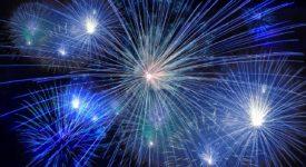 Nieuwjaar, Vuurwerk - Fotocredits: geralt - Bron: pixabay - Creative Commons CC0